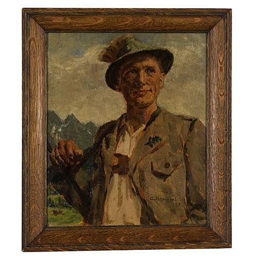 Bavarian Portrait by Conrad Hommel,