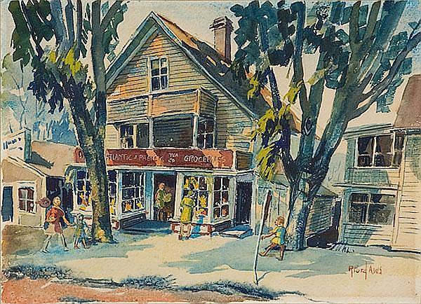 Ruth Van Sickle Ford, Street Scene
