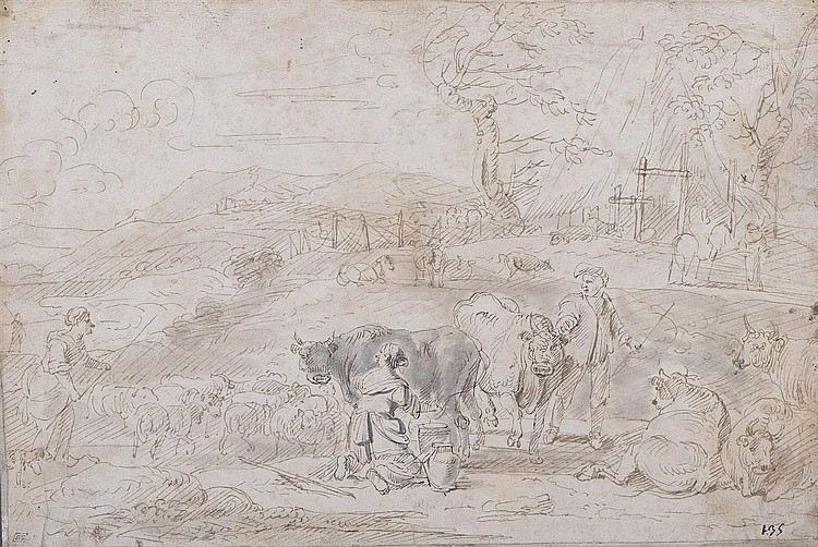 Ecole HOLLANDAISE de la deuxième moitié du XVIIème siècle