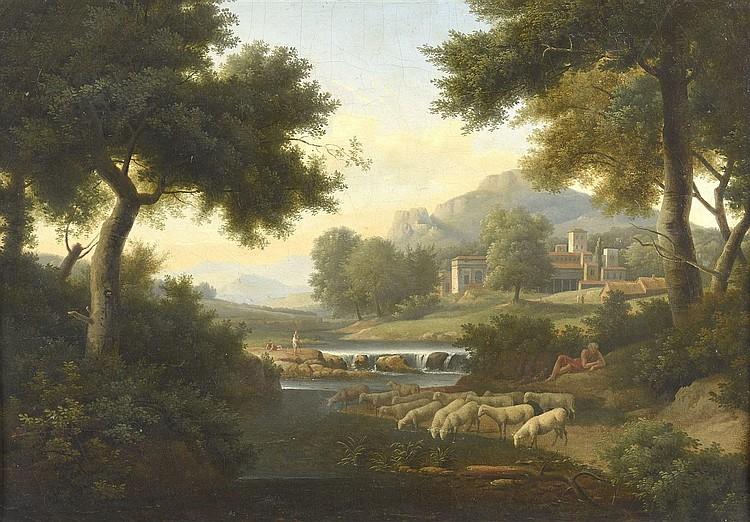 Ecole FRANCAISE du début du XIXème siècle, entourage de Frans SWAGERS