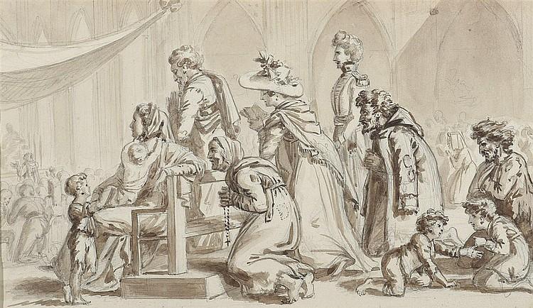 Attribué à Jacques BORDIER DU BIGNON (1774-1846)