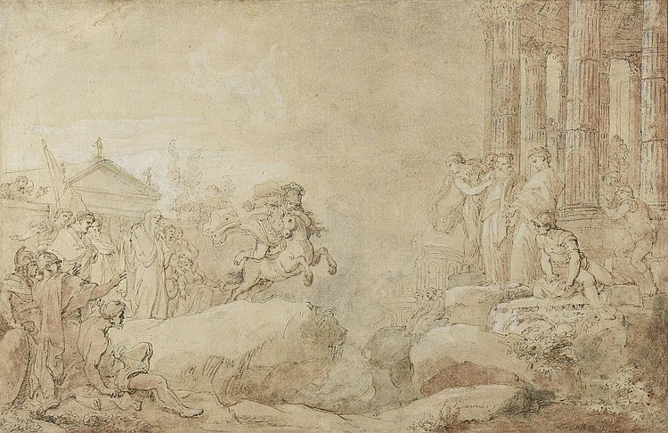 Charles Joseph NATOIRE (Nîmes 1700-Castel Gondolfo 1777)