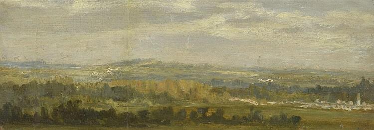 Attribué à Théodore ROUSSEAU (1812-1867)