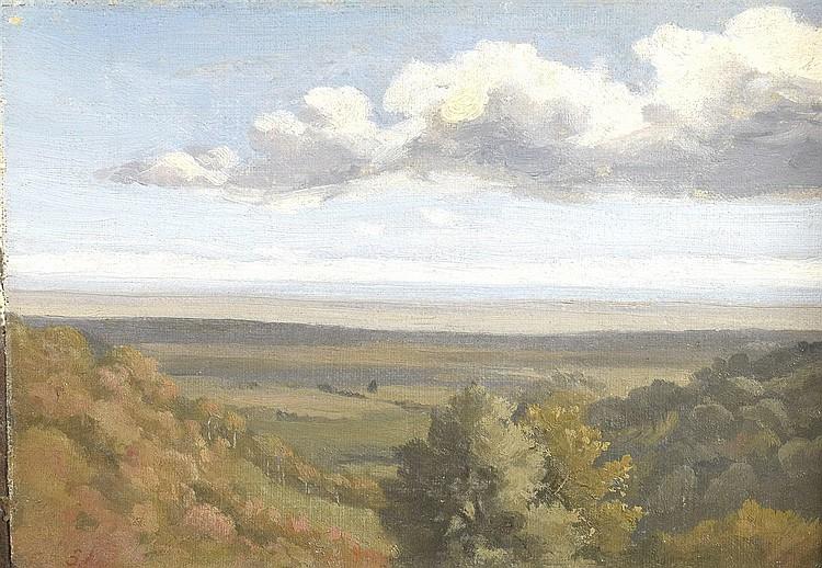 Attribué à Antoine CHINTREUIL (1814-1873)