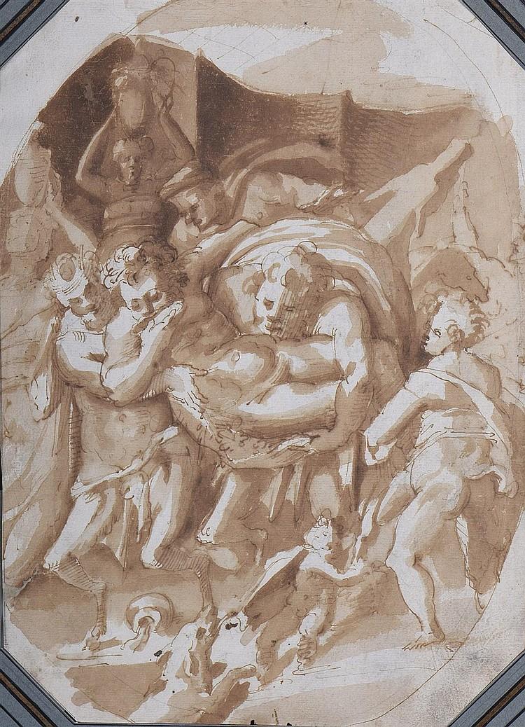 Attribué à Maturino da FIRENZE (1490-1528 ?)