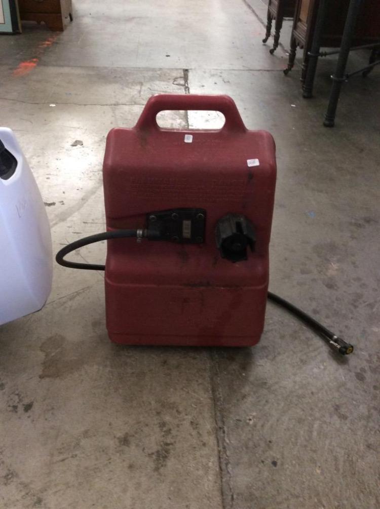Johnson Outboard Trolling Motor Cd 20r W 6 Gallon Gas Tank
