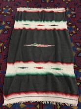 Native American wool blanket w/ nice design