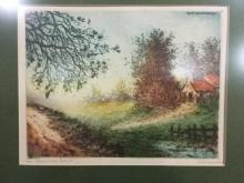 beautiful 1937 Camilla lucas co. Print