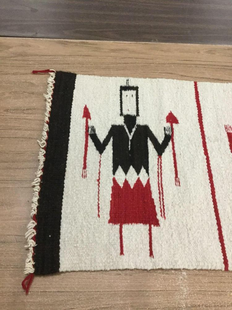Authentic Handwoven Navajo Native American Rug