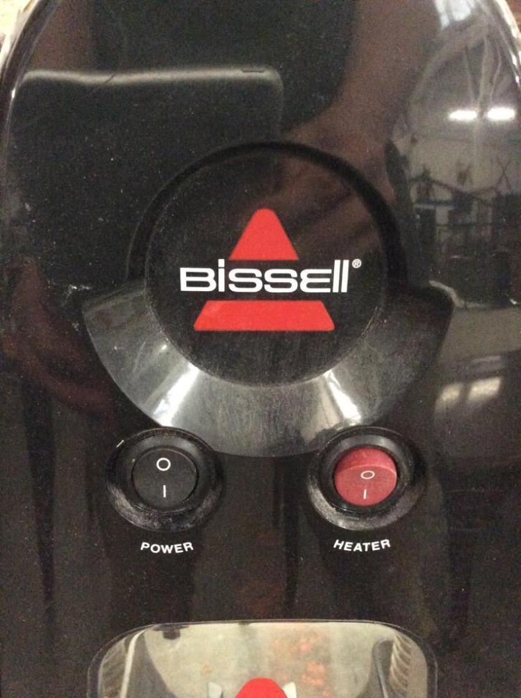 bissell floor finishing machine