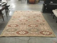 Large wool area carpet, made in India, Capistrano Collection -