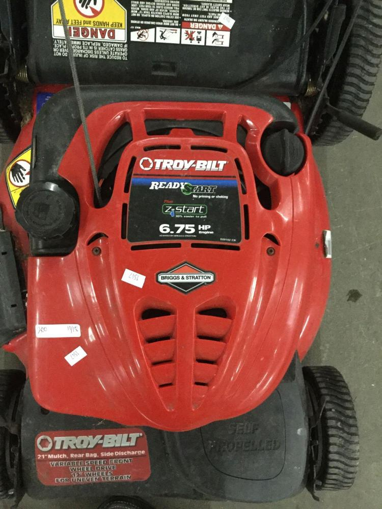 Troy Bilt 6 75 Hp Briggs And Stratton Motor Self Propelled L