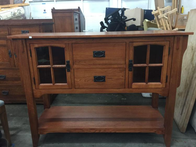 Basset Mission Style Furniture Living Room Display Buffet
