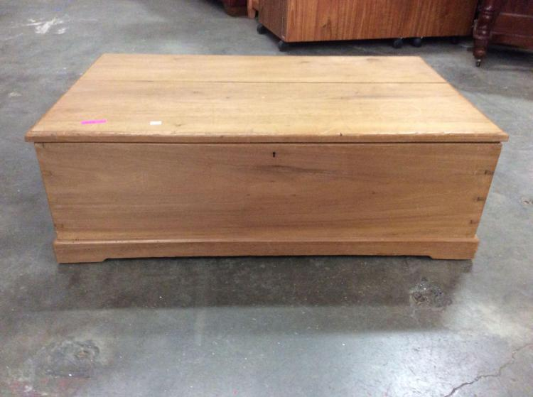 Vintage end of bed mahogany wood storage bench very cool see - End of bed storage bench uk ...