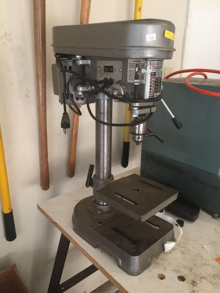 Duracraft Bench Drill Press Model No Sp 30