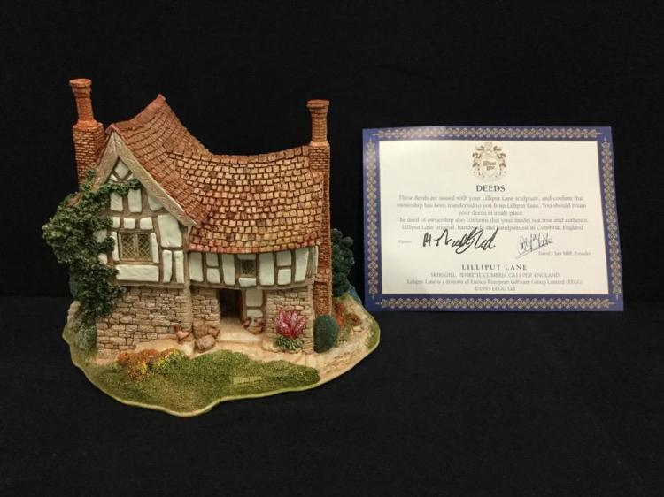 Set of 2 lilliput lane limited edition miniatures 2x cotta for Home decor uk ltd