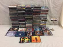 Approx 200 CDS - Blues, rock, dance, jazz, 90's etc - Dire Straits, Sheryl Crow many others see pics