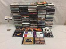Approx 200 cds incl.rock, alternative rock & pop - RHCP, Creed, Yes and much more