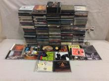 Approx 200 cds - mixed genres from pop & alt rock to blues incl. Beck, Cake, Cars, Neil Diamond etc