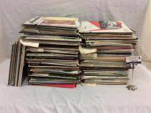 Nice collection of approximately 125 classical, vocal, country, pop, vintage records, etc