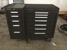 a 12 drawer rolling Kennedy machinest tool chest in great condition