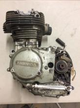 a honda 350 cc engine, not complete, turns over