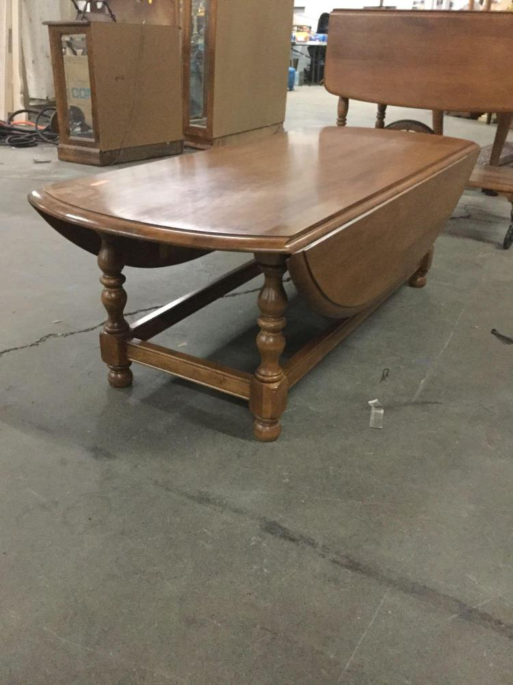 Vintage Ethan Allen Maple Drop Leaf Coffee Table