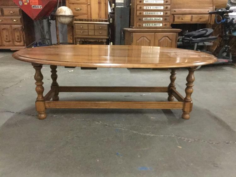 Vintage Ethan Allen Maple Drop Leaf Coffee Table