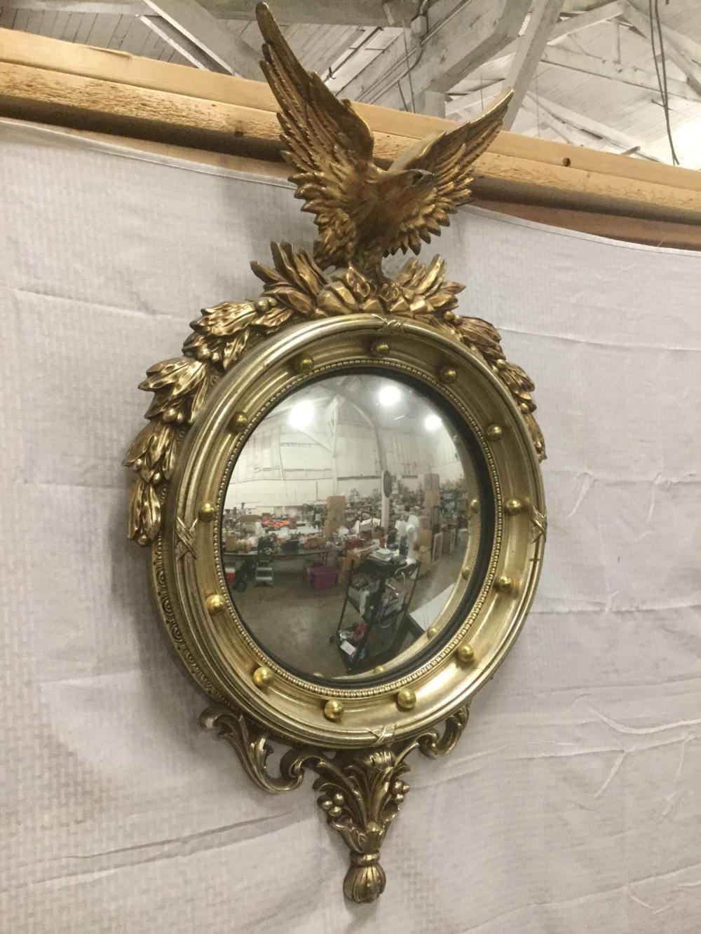 Vintage Turner Decorative Wall Accessory Eagle Mirror