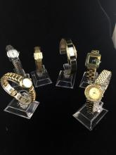 Set of 6 watches incl. citizen, guess, etc - as is