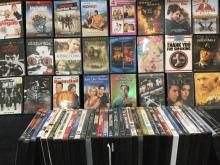 collection of 60 DVD's various genres.