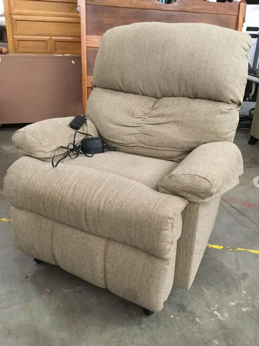 Okin Electric Recliner Lift Chair With Remote Hand Control