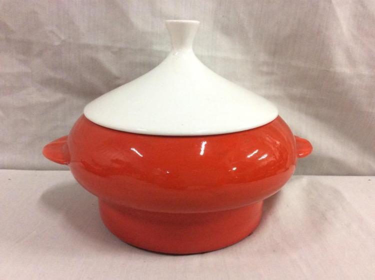Vintage mid century fondue dish set marked usa california for Affordable pools pearl river la