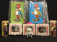 Collection of Steinbach nutcrackers, ornaments and books - wow!