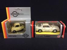 Gama mini BMW Isetta and a Bandai Galland 1 2000ST