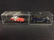 Minerva Automobiles 25PK Rapide and a Tameo Ferrari 340