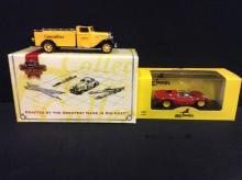 Matchbox Models of Yesteryear 1933 Diamond T Low-Wall Truck and an Art Models Ferrari Dino 206