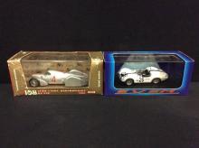 Brumm Models 1937 Auto Unioin Rekordwagen and a Exem models 1960 Le Mans Maserati Birdcage