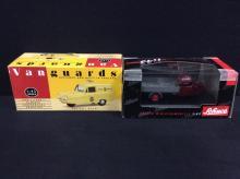 Schuco models Tempo Pritschenwagen and a Vanguards models Reliant Regal