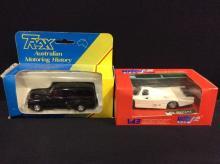Trax Models FJ Holden Van and a Vitesse Models 1983 Porsche 956