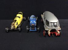 2 Brumms models racecars and 1 Rio models Afa 40