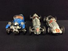 Set of 3 Brumms models race cars (without boxes)