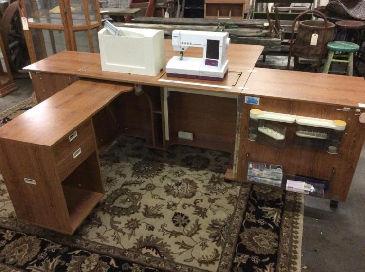 sewing machine workstations