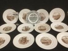 Collection of 13 Wedgewood â??Old London Viewsâ?쳌 commemorative plates
