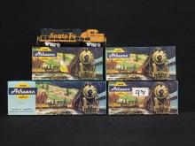 4 Athearn rolling stock