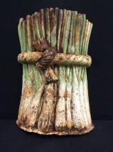 Antique Leek Bundle Cast iron Door Stop