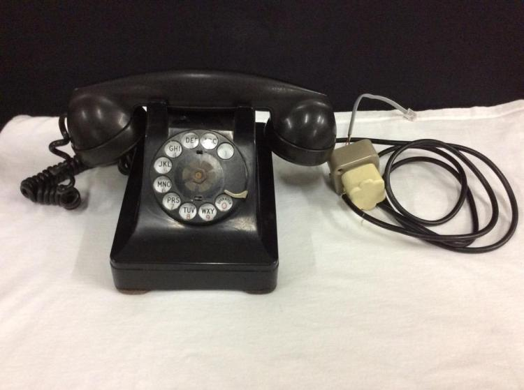 1940's Lucy Phone w/ adapter