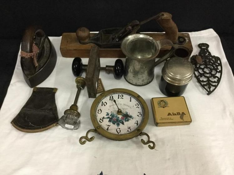 Large set of misc vintage and antique collectibles