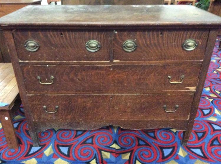 Lovely Antique Dresser - fair cond - original handles