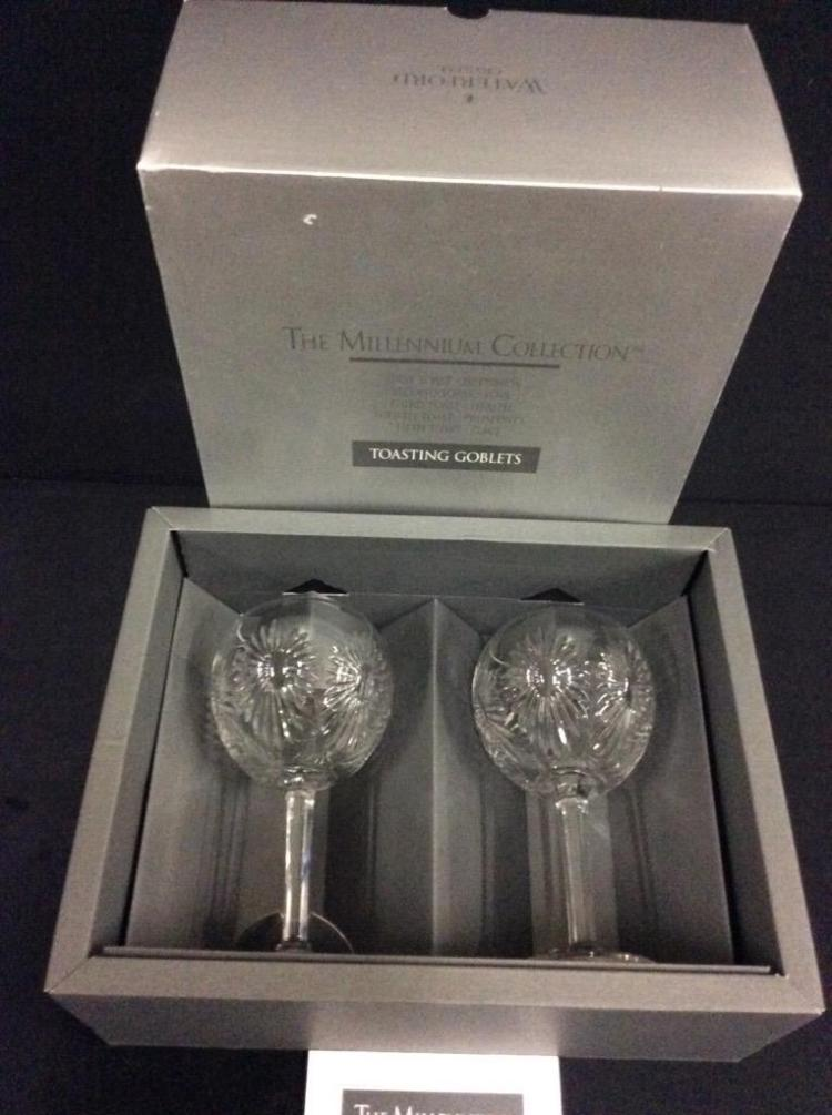 Like NIB Waterford Tasting Goblets